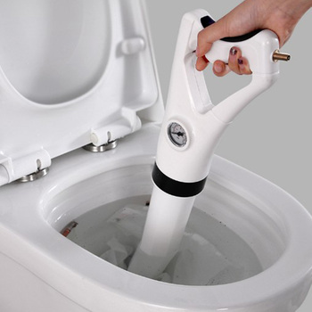 Toilet Drain Cleaner   Promotion! Household High Pressure Multi-Function Toilet Blockage Dredge Sewer Tool Toilet Pipe Blockage Suction Machine
