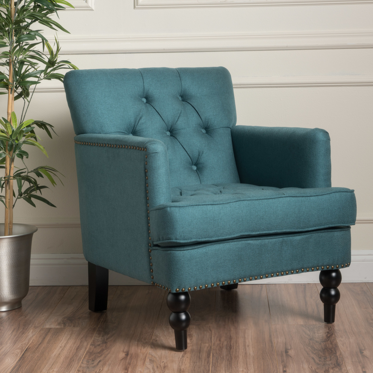 Us 260 74 Madene Tufted Back Fabric Club Chair In Living Room Chairs From Furniture On Aliexpress Com Alibaba Group