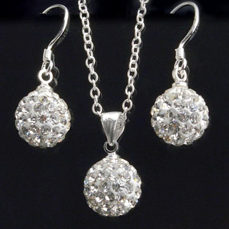 e592813981 Jewelry jewerly sets Earrings Earing Online India Mujer For Women  accessories necklace set Crystal Stud jewellery bijoux femme-in Jewelry Sets  from Jewelry ...