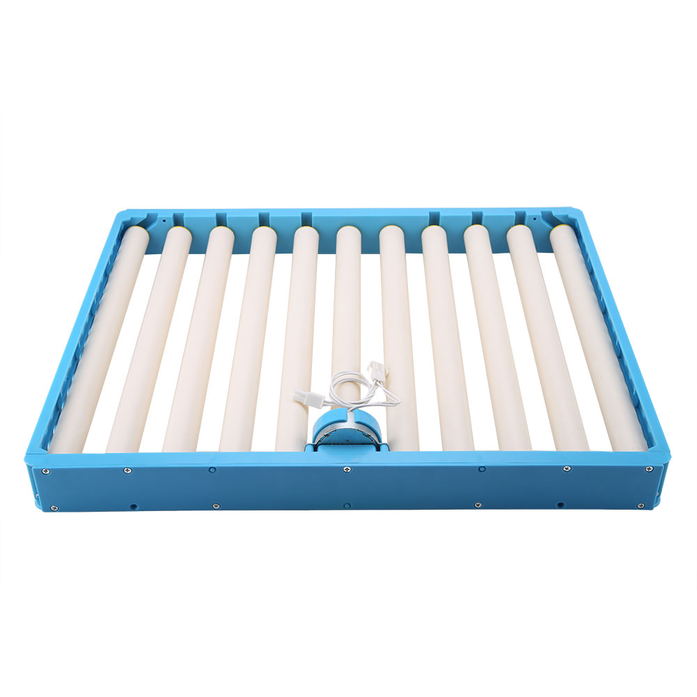 110V/220V Optional Plastic Durable Rotary 360 Degree Fully Automatic Roller Pattern Egg Turner Incubation Accessory