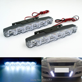 DC12v Waterproof Car LED Day Light Driving Lamp For BMW x1 x3 x5 e53 e70 f15 x6 e46 e90 e60 e39 e36 f30 f10 accessories image