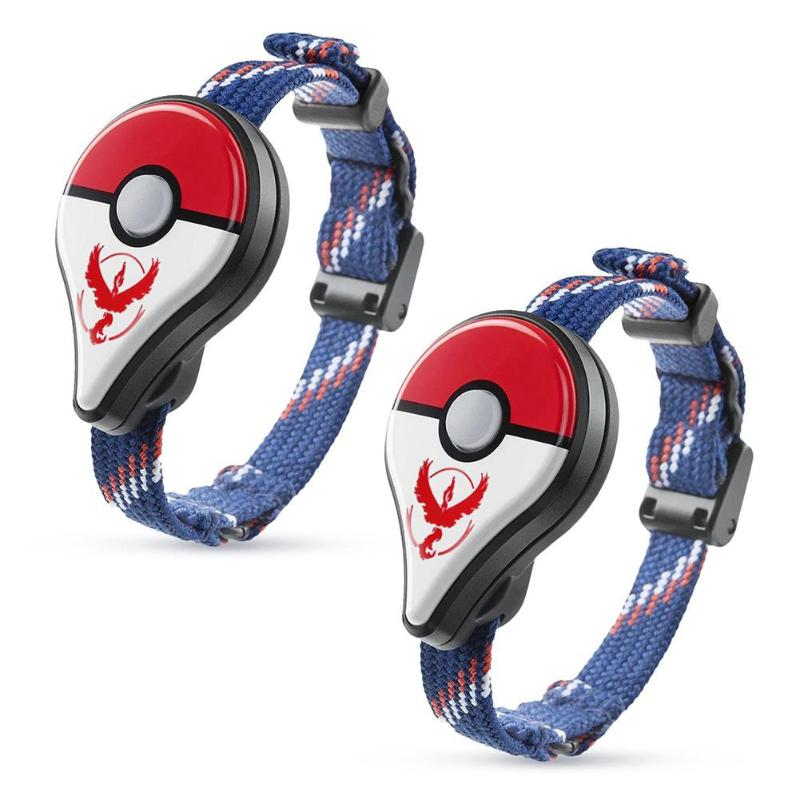 2 pièces Bracelet Bluetooth montre Bracelet accessoire de jeu pour nessa Pokemon Go Plus pour Nintendo jouets interactifs pour Pikachu