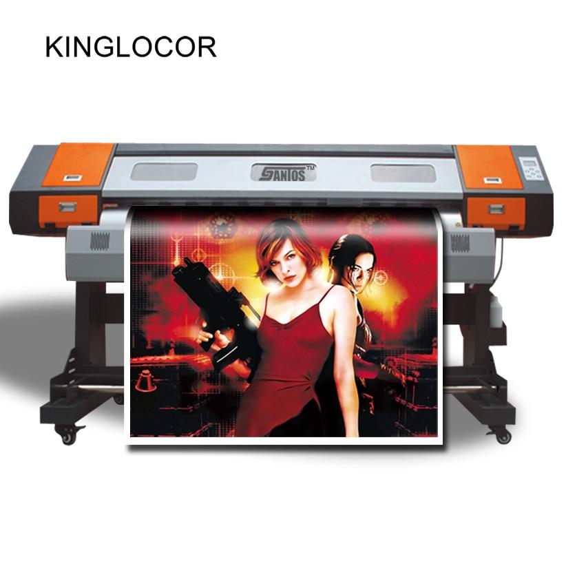1 6m 5ft outdoor color inkjet printer vinyl sticker banner printing large format poster pvc best sublimation printer 2019