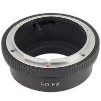 Черное переходное кольцо для объективов Canon FD FL для камеры FUJIFILM Fuji FX X-Pro1