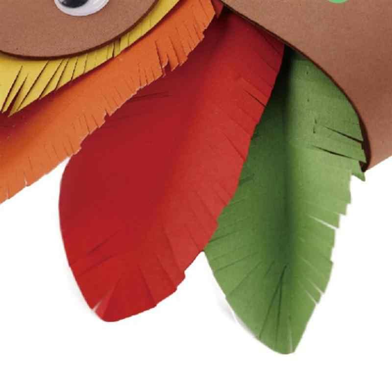 DIY индейка головная повязка ручной работы Корона Кепка для фестиваля день благодарения предметы для вечеринки подарок игрушка для детей оптовая продажа