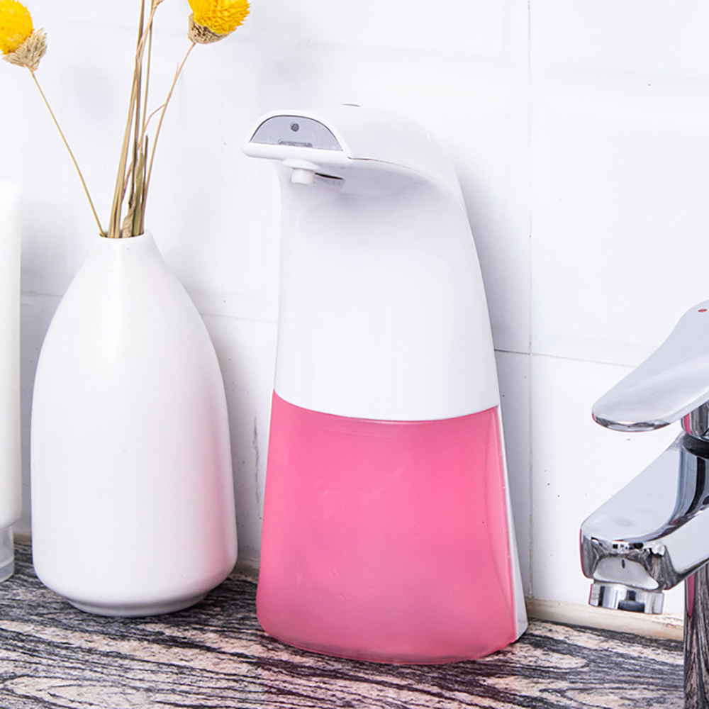 350ml Infrared Sensing Automatic Soap Dispenser Large Capacity Portable Soap Dispensers Bathroom Kitchen Household Merchandises