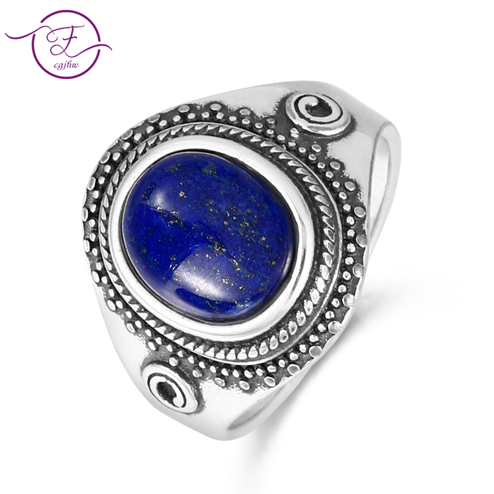 Original 925 sterling silver jewelry natural blue lapis lazuli ring oval 8X10MM engagement anniversary gift wholesale           Original 925 sterling silver jewelry natural blue lapis lazuli ring oval 8X10MM engagement anniversary gift wholesale