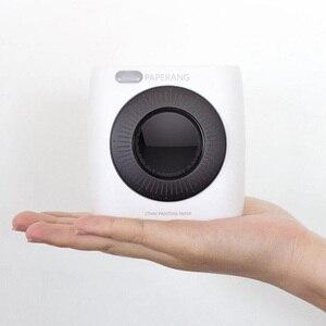 Image 2 - Impresora portátil de bolsillo PAPERANG P2 con Bluetooth, conexión inalámbrica para teléfono, impresora de etiquetas térmicas HD, batería de 1000mAh