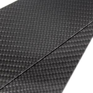 Image 3 - 6pcs Car Carbon Fiber Window B pillar Exterior Molding Decor Cover Trim For Mercedes Benz GLC Class 2015 2016 2017 2018