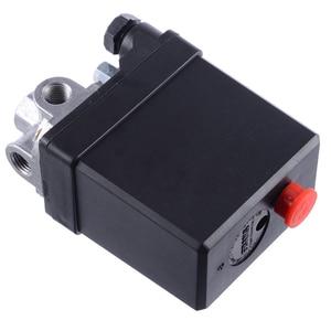 Image 3 - Mayitr 3 phase الثقيلة ضاغط الهواء مفتاح ضغط صمام التحكم مفتاح ضغط مكبس جزء 380/400 فولت