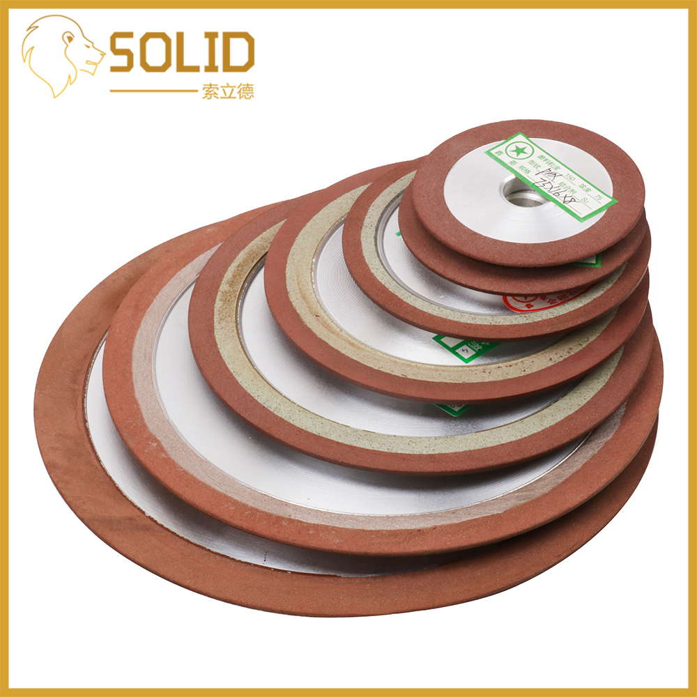 Diamond Grinding Wheel Cutting Disc Resin Bond Grinder For Tungsten Steel Milling Cutter Sharpener 75/80/100/125mm 150Grit 1Pc
