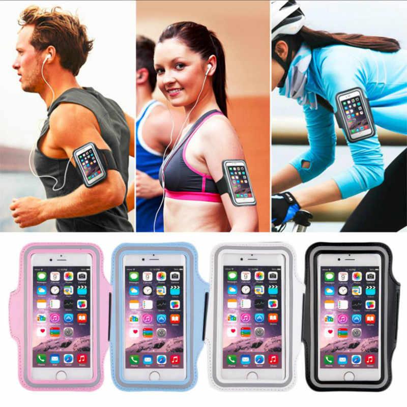 4.7/5.5 インチ防水スポーツランニングアームバンドケース電話ホルダーポーチ Iphone 6/7 プラス携帯電話 gym
