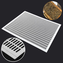 New 1PCS Bee Queen Excluder Trapping Net Grid Beekeeping Tool Plastic Equipment 51 x 41cm цена и фото