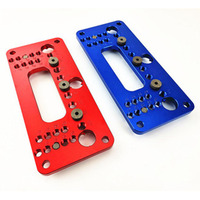 Cabinet Handle Punch Locator Template Drill Guide Woodworking Accessories