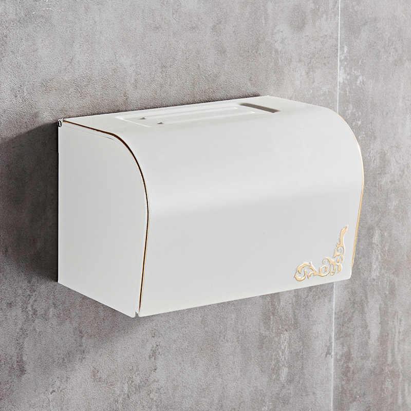 Античный рулон туалетной бумаги, ванная комната, водонепроницаемая коробка для салфеток, коробки для хранения салфеток, европейские туалетные принадлежности
