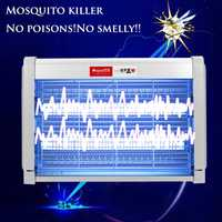 20W 220V Mosquito Killer Lamps LED Light Electronic Killer Trap Light Fly Wasp Bug Insect Zapper Trap Catcher Indoor Room Garden