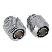 G1/4 Внешняя Резьбовая трубка или плоская фитинг резьба для 9,5X12,7 мм PC трубный соединитель система водяного охлаждения трубка