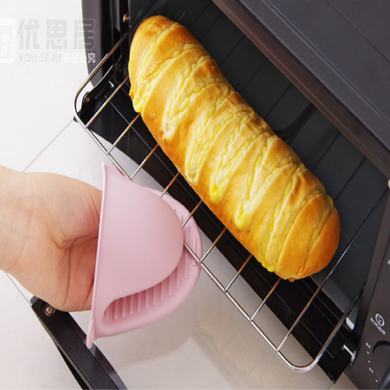 pot holder Heat insulation kitchen gloves oven gloves oven mitts silicone gloves FREE SHIPPING in Oven Mitts Oven Sleeves from Home Garden