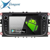 Android 9.0 For Ford Mondeo Focus C MAX Galaxy Tourneo Transit S max Kuga Car 2 Din DVD GPS Radio multimidia Player Silver Black