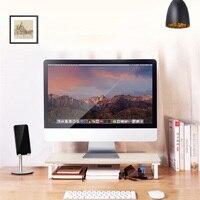 New Computer Stand Monitor Increased Shelf Screen Heightened Base Desktop Keyboard Storage Shelf Elevated