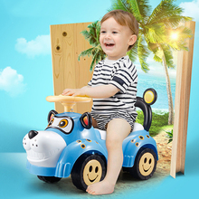 Children Riding Scooter With Light Music English Songs Ride On Cars Kids Toys Outdoor Fun Kids Gift Safe Backrest