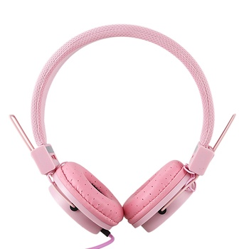CATS Fashionable Headset Foldable Design Children Kids Over Wired Earphones Headband Kids Girl Headphones For Ipad Tablet
