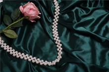 #8222 Piękne oryginalność 】 osobowości czysta instrukcja książka koralik szerokość perła łańcuch pakiet pasy przekątnej perła szerokość pasy tanie tanio Metal Pasek torby bag strap Maxis Opia