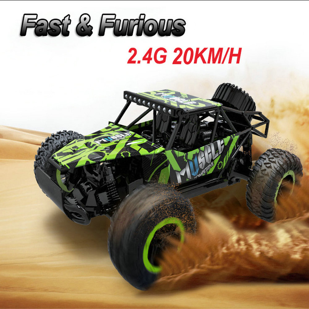 Jule RC Car High Speed 20KM/H 1:20 Truck Racing Climbing 2.4G Remote Control Car Electric RC Cars Drift Off Road Drift Car