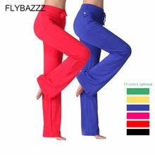 New Spring Autumn Women Sexy Yoga Leggings Solid Color Drawstring High Waist Dancing Pants Fitness Lady Trousers S-3XL