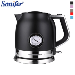1.8L Colorful 304 Stainless steel Electric Kettle With water temperature meter 1500W Household 220V Quick Heating Electric Boili