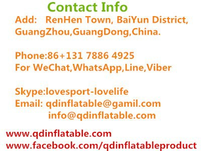 QinDa Inflatable Contact Information