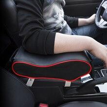 Универсальный Кожа автомобилей Подлокотник Авто подлокотниками автомобиля центральной консоли подлокотник сиденье накладки на коробку