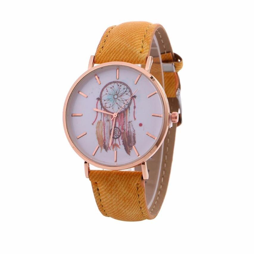 NEW Dreamcatcher Watch Women Retro Cowboy Leather Quartz Wrist Watches Women's Casual Sports Clock Watch Relogio Feminino #LH 5
