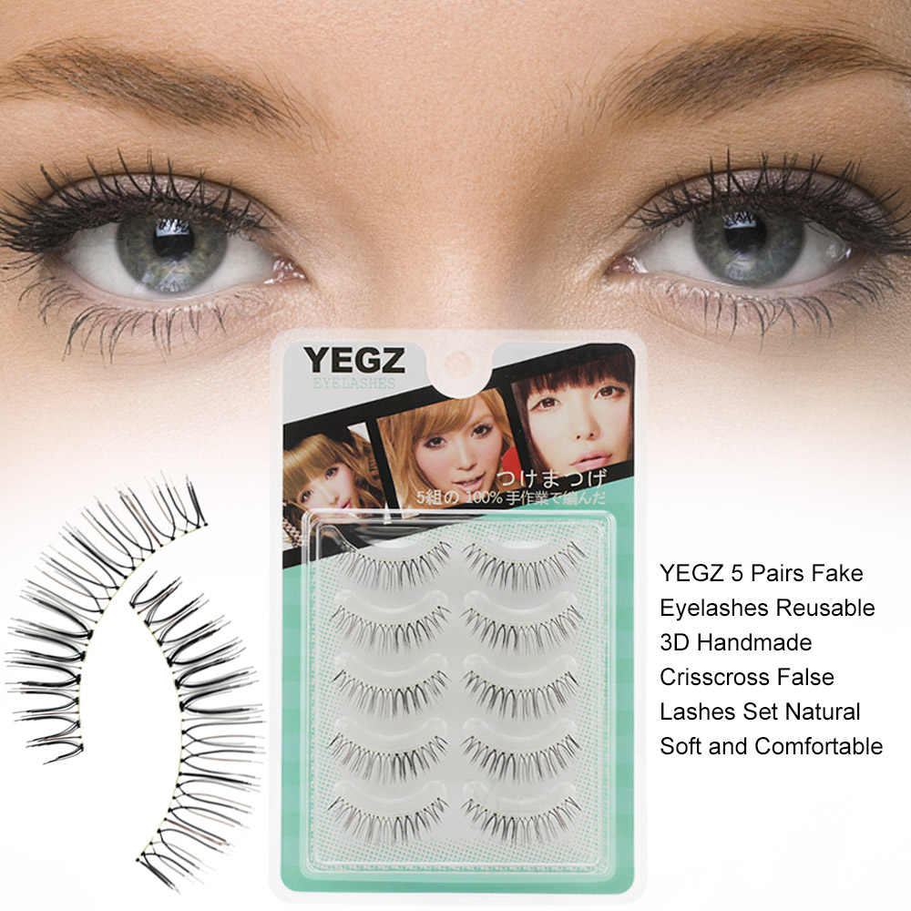 d14e5d62f09 Detail Feedback Questions about YEGZ 5 Pairs Fake Eyelashes Reusable ...