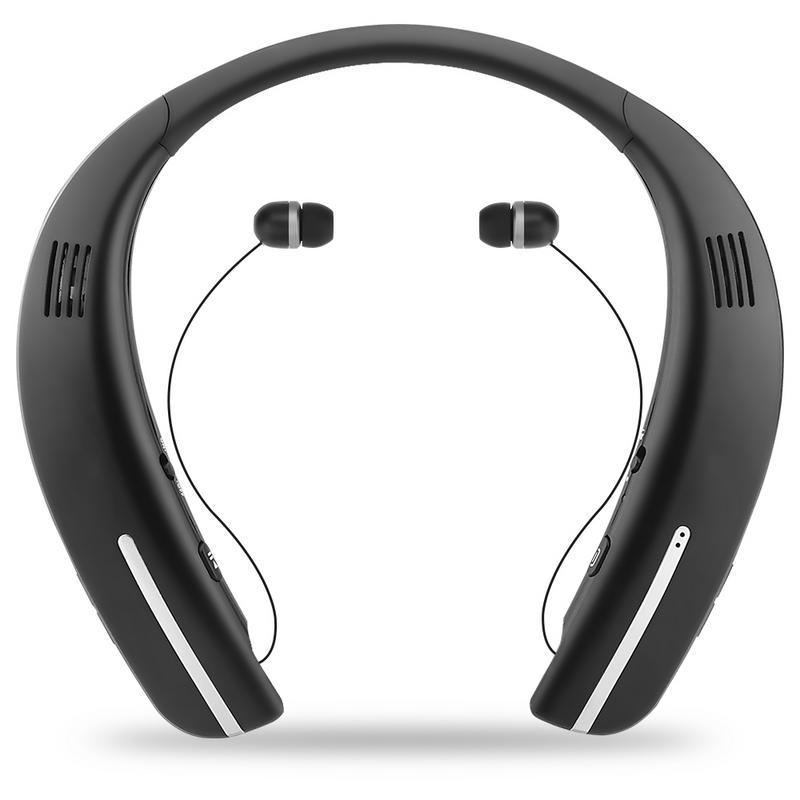 Wireless Bluetooth Speaker Creative Neck Mounted Portable HD Waterproof Bluetooth Headset Motion Speaker External Loudspeaker