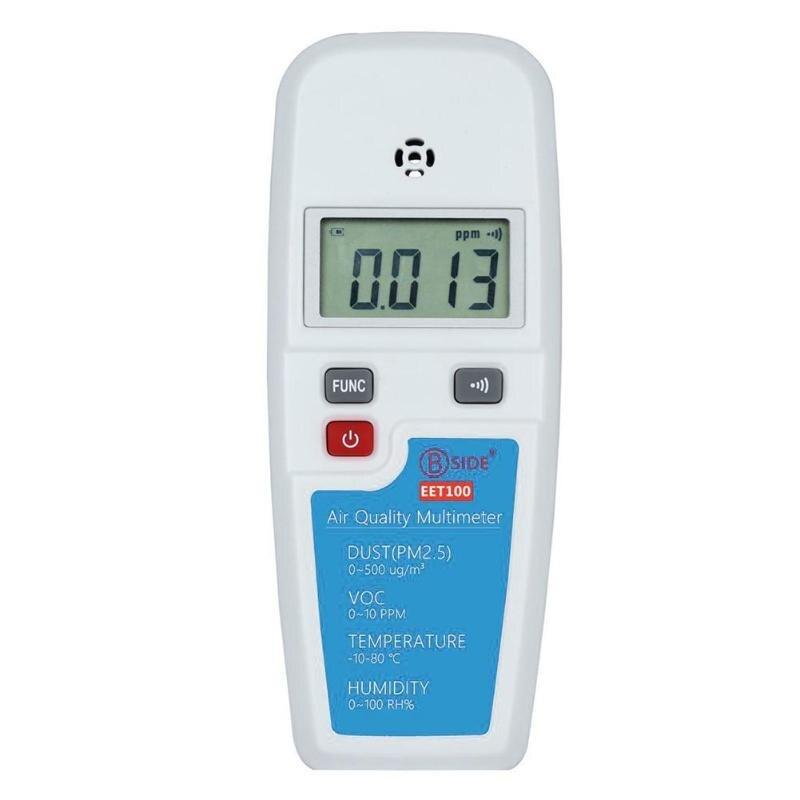 PM2.5 Formaldéhyde D'alcool Air Qualité Détecteur Testeur De La Poussière COV Capteurs