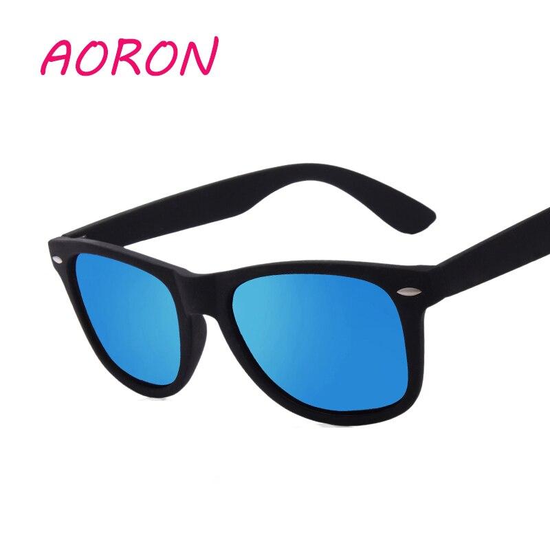 c62685f46f AORON para hombre mujer gafas de sol polarizadas conducción de los hombres  gafas UV400 de Deportes de moda caliente gafas de pesca Mirrorred puntos