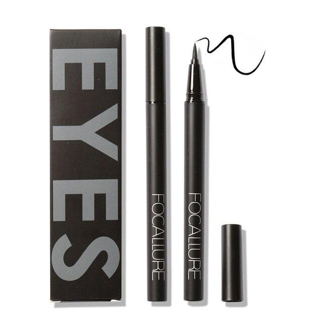 Focallure waterproof liquid Eyeliner Pen Black Eye pencil keep 24H makeup beauty and top quality eyeliner cosmetic makeup 1