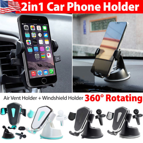 Mount Holder Car Windshield Stand For Mobile Cell Phone GPS iPhone Samsung