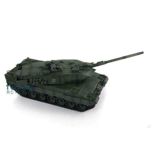Henglong 1 16 Green 6 0 Infrared Combat Leopard2A6 RC Tank 3889 W 360 Turret Barrel