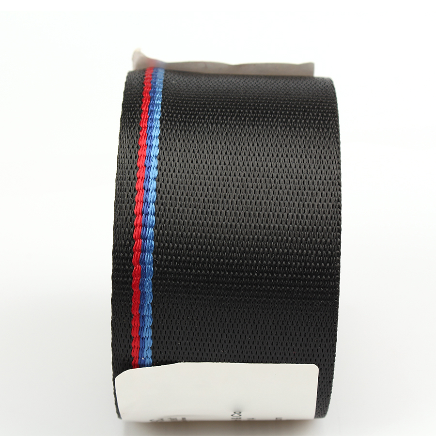 Image 3 - 3.8m Car Seat Belt Auto Safety Webbing Racing Harness Ribbon Blue Red Wholesale For BMW-in Seat Belts & Padding from Automobiles & Motorcycles