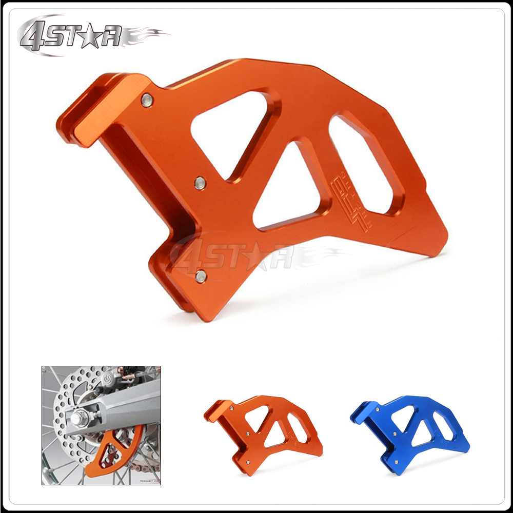 Motorcycle Rear Brake Disc Guard Cover For KTM EXC EXCF XCW XCFW SX SXF XC XCF 125 150 200 250 300 350 400 450 500 505 530 image