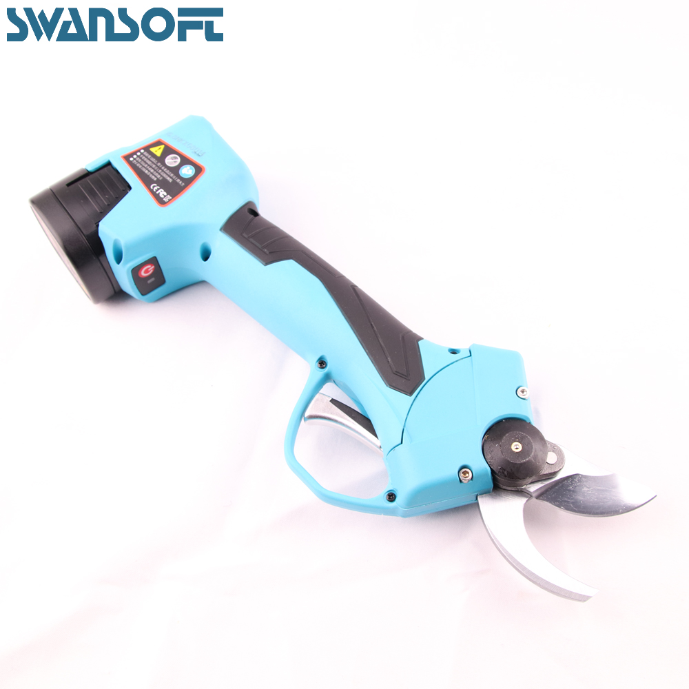 Electric Pruning Shears, Fast Charging Lithium Battery, Working Hours 8 Hours, Cordless Garden Tools Scissors