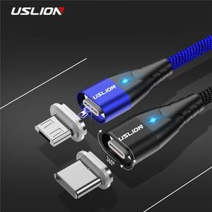 USLION LED Magnetic USB Cable
