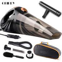 Mini Aspiradora GRIKEY Para coche, Aspiradora portátil de 4,8 kPa Para coche, Aspiradora Para coche, Aspiradora portátil Para coche de 12V