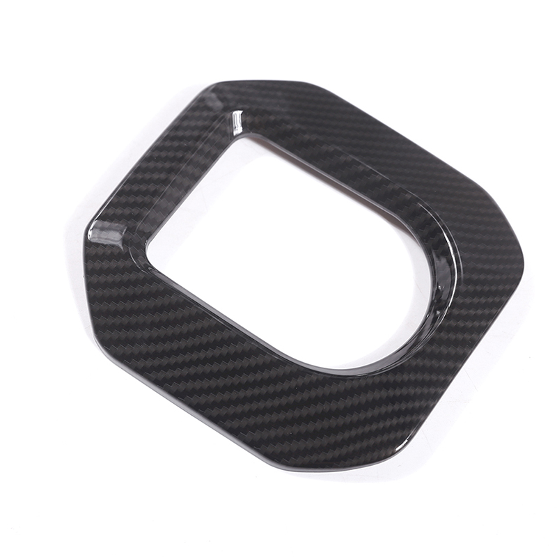 1 Pcs For Land Rover Range Rover Evoque 12 17 Carbon Fiber Style ABS Plastic Accessories Gear Shift Frame Cover Trim