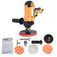 Car Sander Machine Waxing Machine Variable Speed Polisher with Polishing Disc Wool Pad Wrench