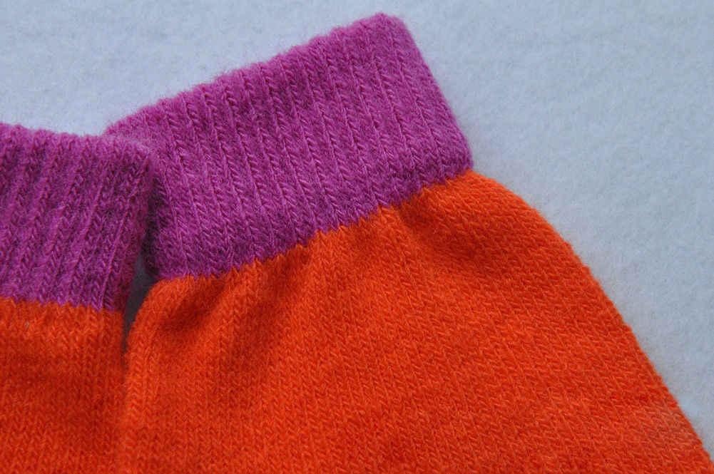 חורף חם כפפות עבה רך תינוק בנים ובנות חמוד עיצוב סריגה כפפה