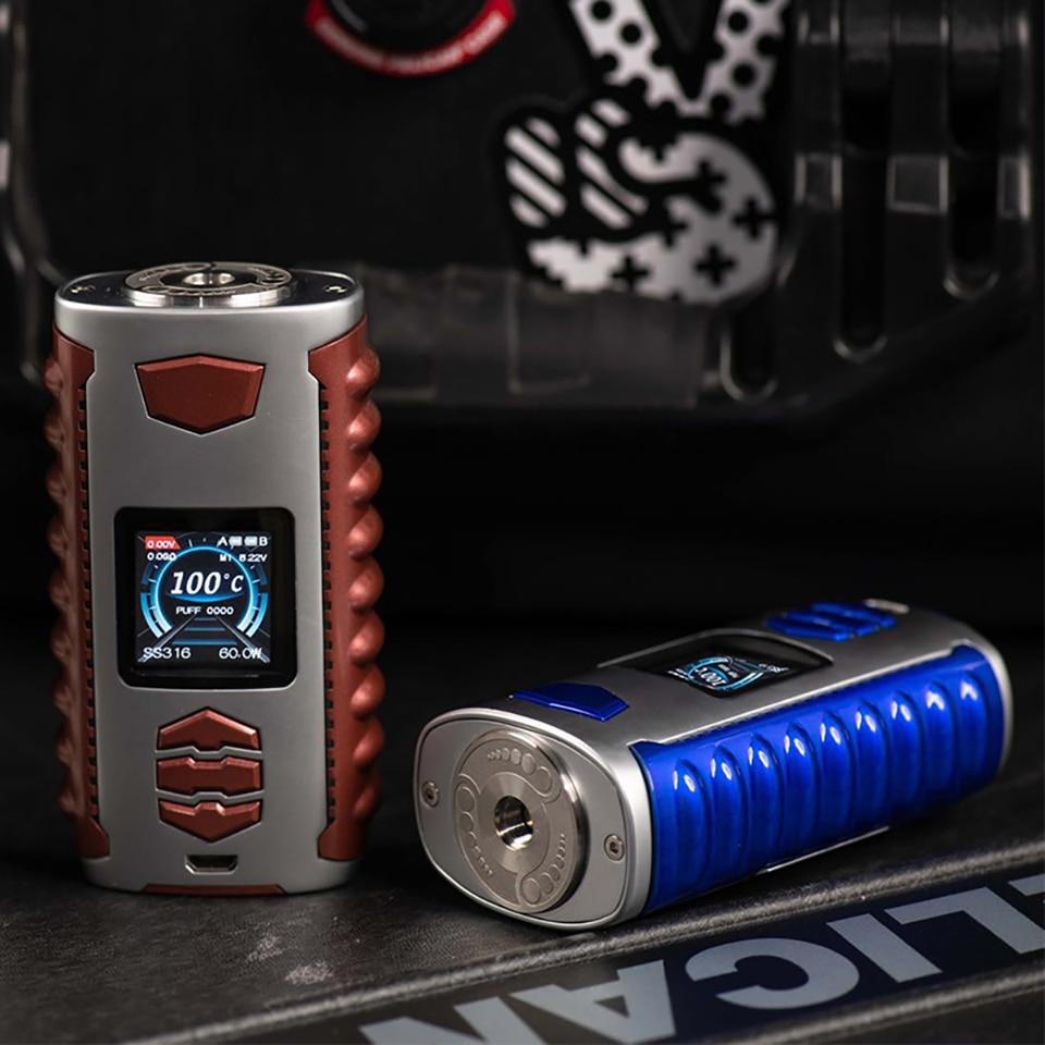 D'origine Ovanty Vega 200 W Vaporisateur Boîte Mod étendre 18650 Batterie Cigarette Électronique 1.33