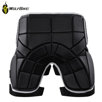 Wolfbike Snowboard Shorts Sports Skis Hip Protective Pad Motocross Off Road Bike Skiing Hockey Butt Support Body Protection 2018 children snowboard ski hip pad protection eva cycling skiing skateboarding sports shorts boys girls skating roller shorts